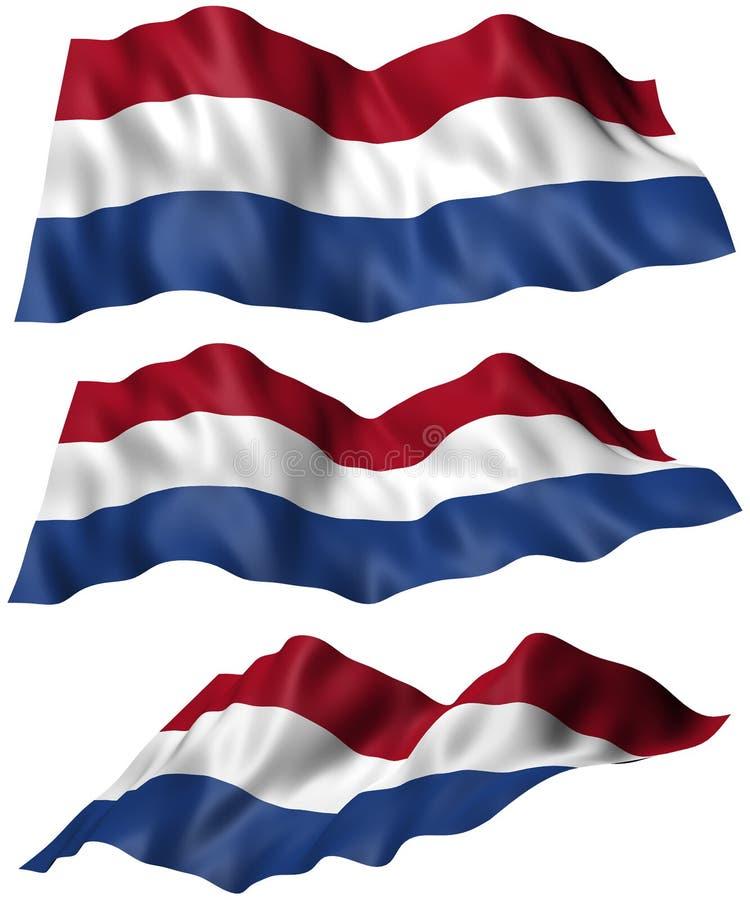 Нидерландский флаг бесплатная иллюстрация