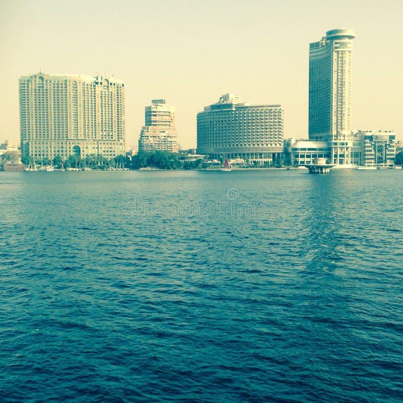 Нил Каир стоковое фото