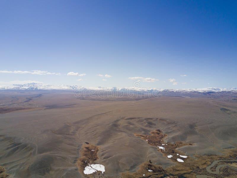 дни altai продолжают лето гор Красивейший ландшафт гористой местности Россия Сибирь стоковая фотография