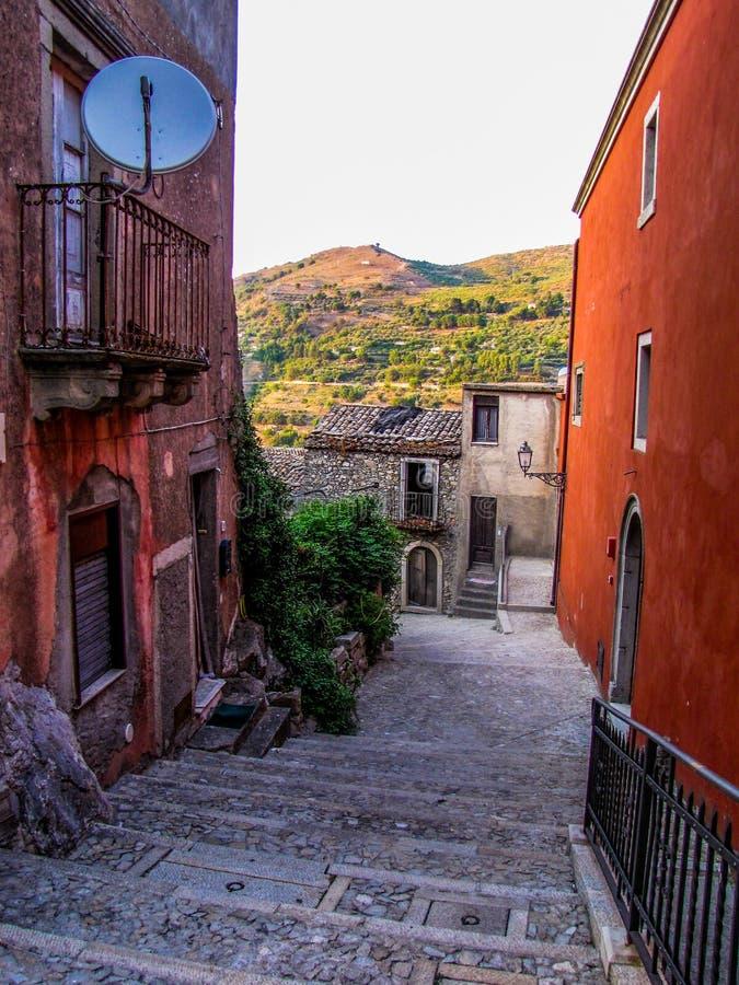 Новара-ди-Сицилия, Сицилия, Италия стоковое фото