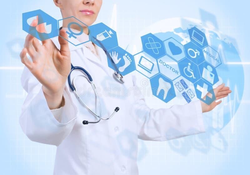 Новаторские технологии в медицине стоковое изображение