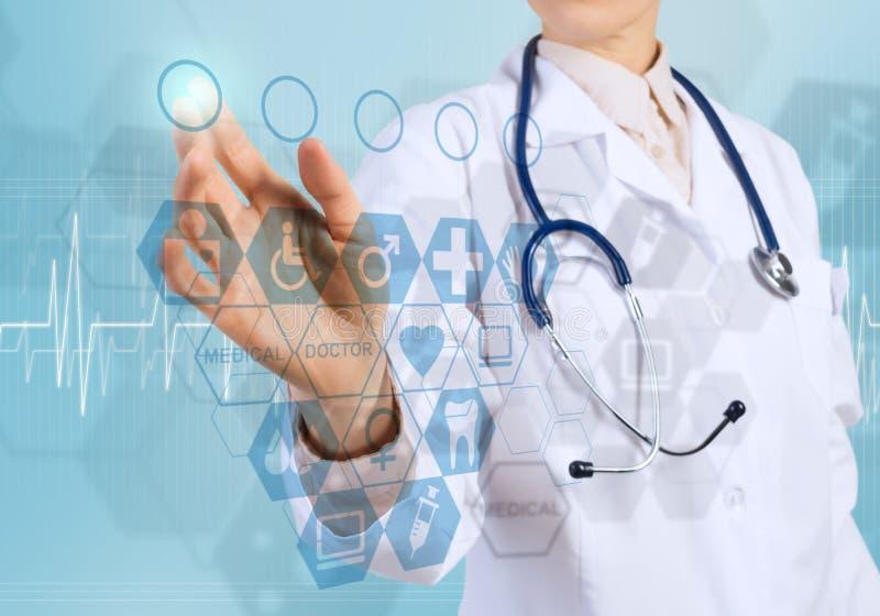 Новаторские технологии в медицине стоковая фотография rf