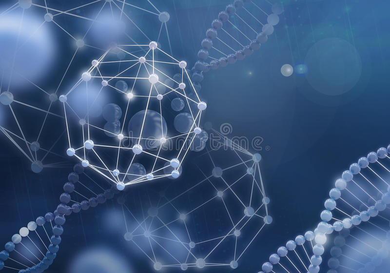 Новаторские технологии в науке и медицине стоковые изображения rf