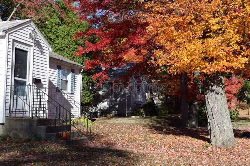 Новая Англия осенью стоковое фото rf