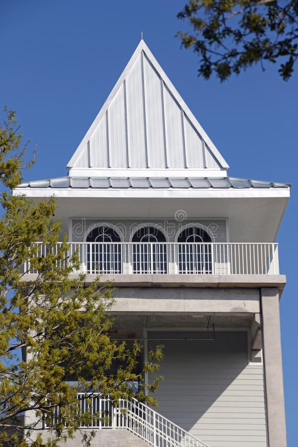 Новая башня на стадионе Hammond стоковые фотографии rf