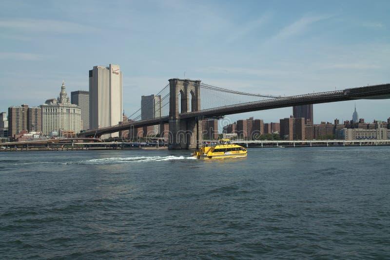 новая вода york таксомотора стоковая фотография rf