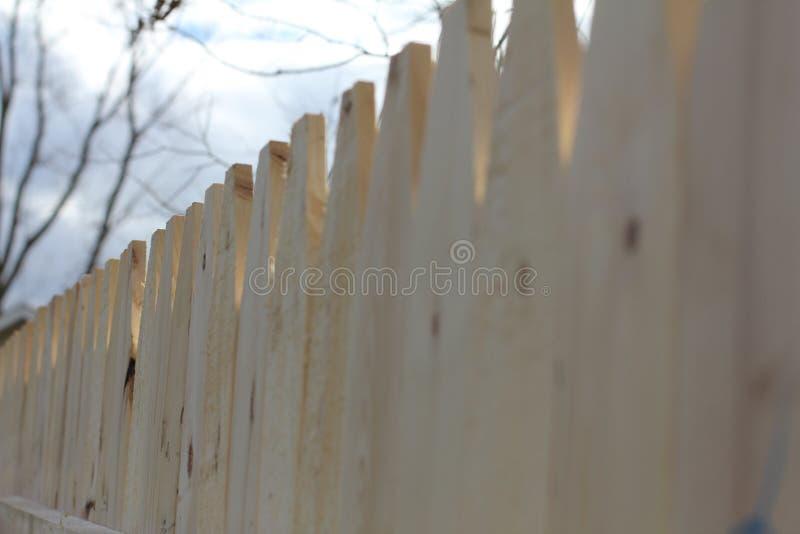 Новая загородка стоковое изображение