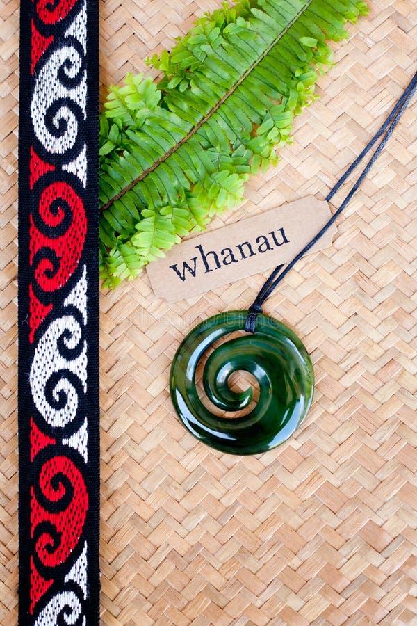 Новая Зеландия - маорийская тема стоковое изображение