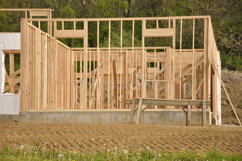 новая конструкции домашняя стоковое изображение rf