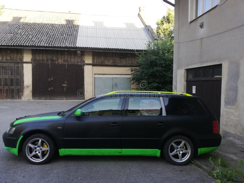 Новая краска для автомобиля стоковые изображения rf