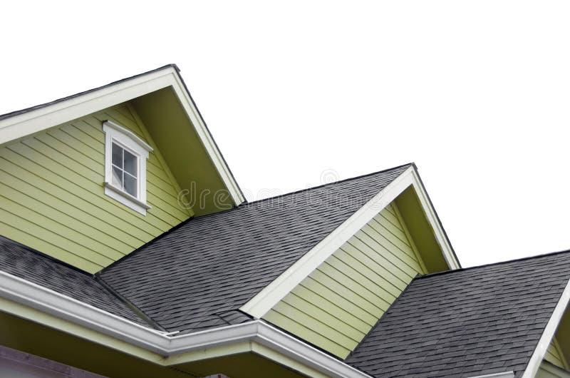 новая крыша стоковое изображение