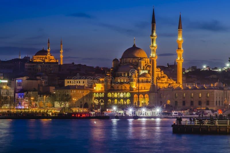 Новая мечеть & x28; Istanbul& x29; стоковые фото