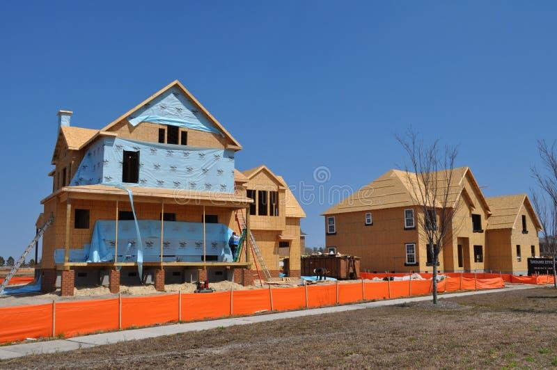 Новая домашняя конструкция стоковая фотография rf