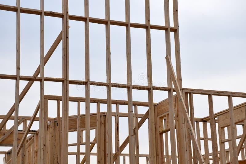 Новая домашняя рамка Construntion стоковое фото rf