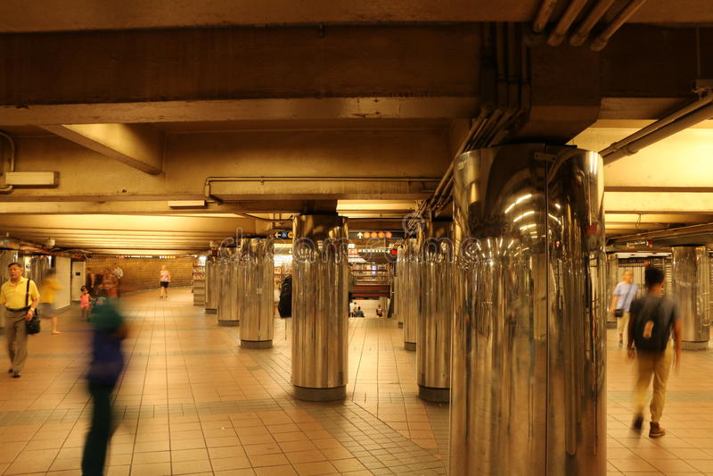 новая подземка york стоковая фотография rf
