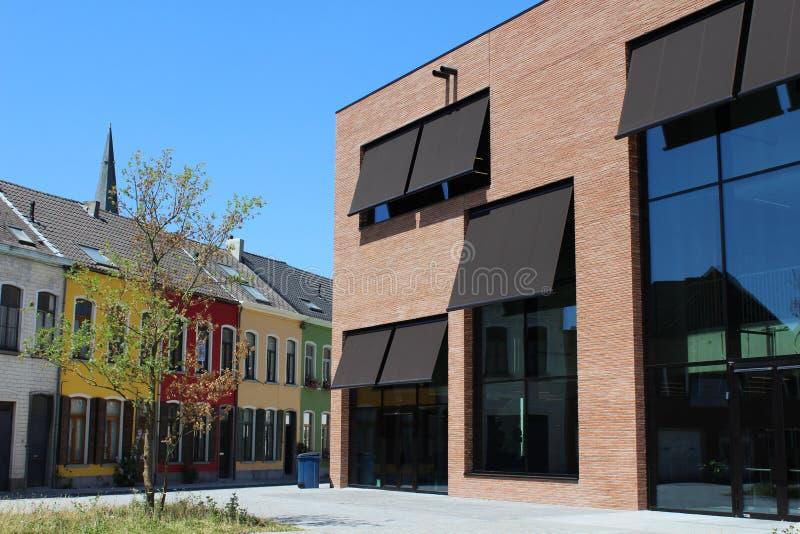 Новая публичная библиотека, Aalst стоковые изображения rf