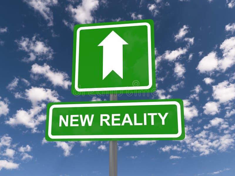 Новая реальность иллюстрация штока