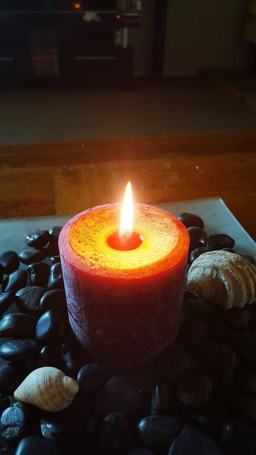 Новая свеча стоковое фото rf