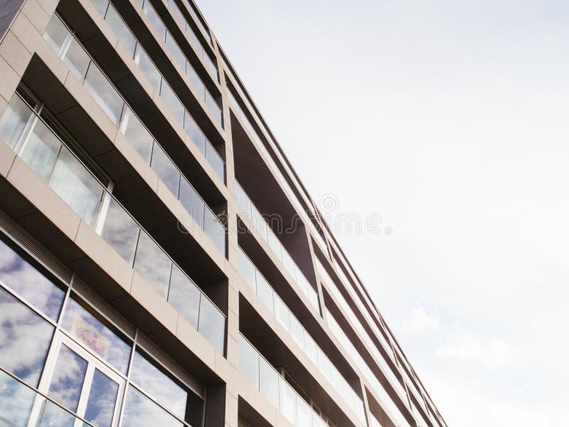 Новая современная архитектура в Роттердаме стоковые фото