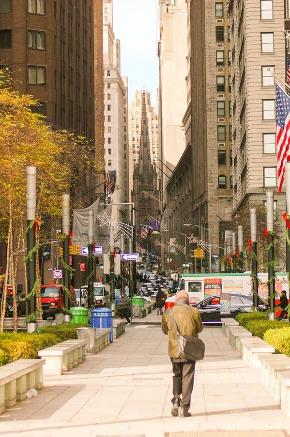 новая улица york места стоковая фотография rf