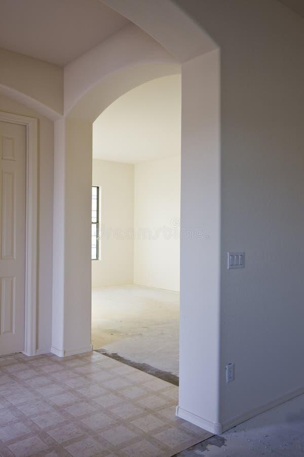 новая drywall конструкции нутряная стоковое изображение rf