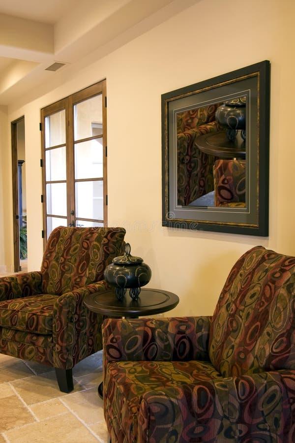 новая entryway домашняя роскошная самомоднейшая стоковые фотографии rf