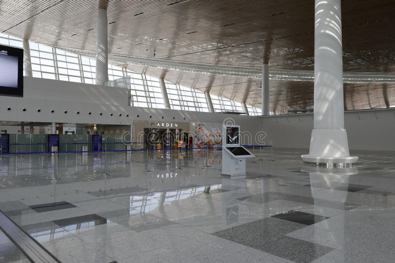 Новая t4 терминальная зала, amoy город, фарфор стоковые фото