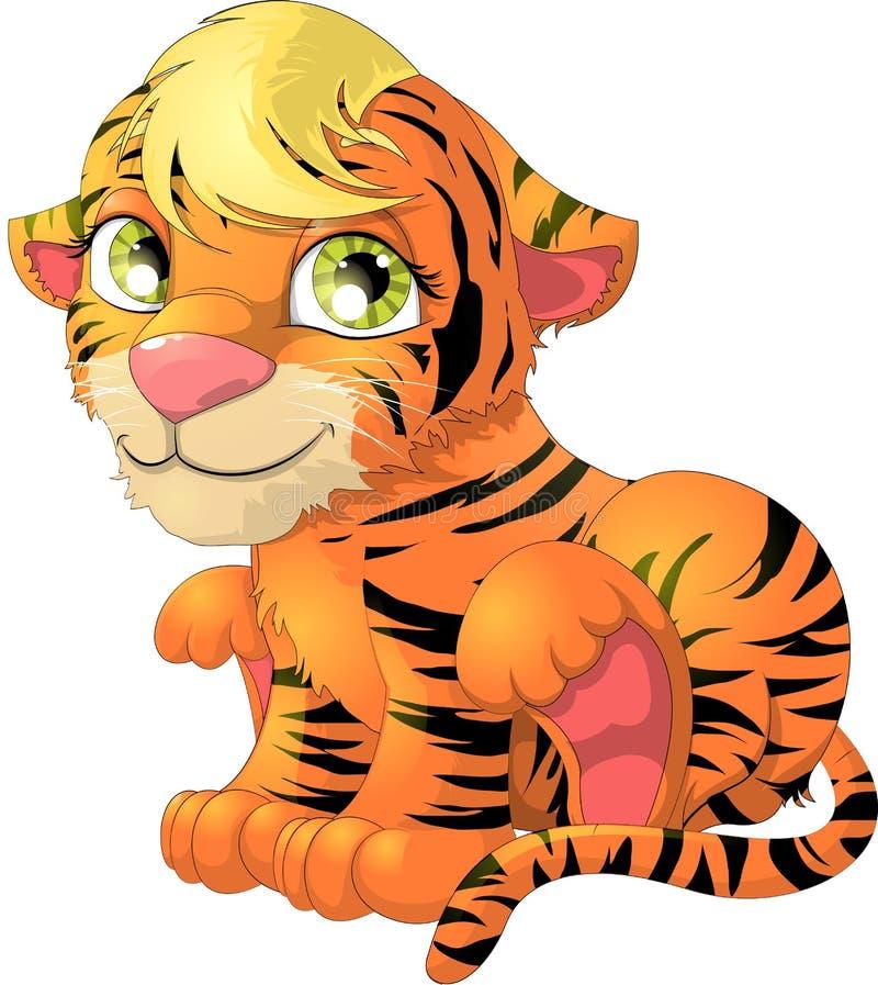 Новичок тигра бесплатная иллюстрация