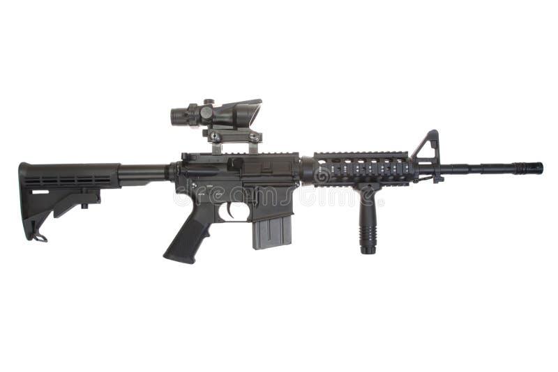 Новичок M4A1 изолированный на белой предпосылке стоковые фотографии rf