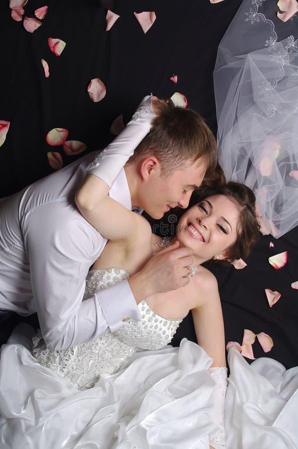 Новобрачные стоковое изображение rf