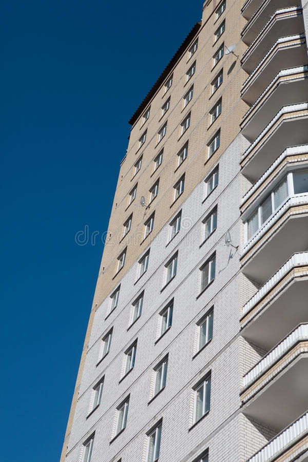 Новое здание стоковое изображение rf