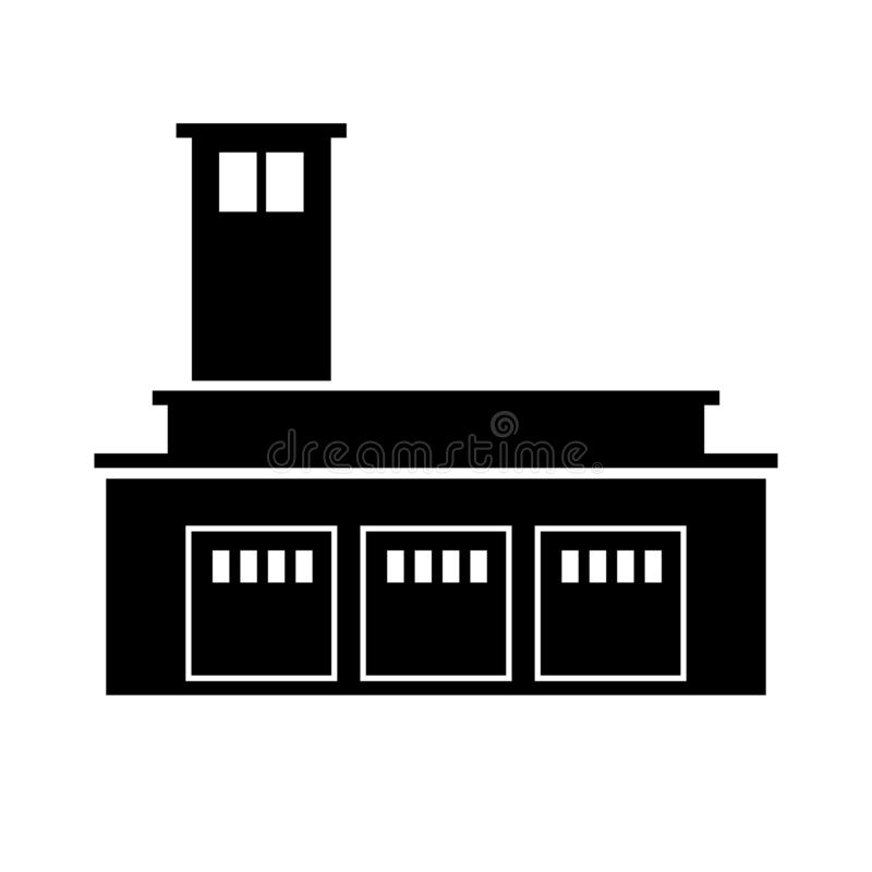 Новое отделение пожарной охраны Глазго бесплатная иллюстрация