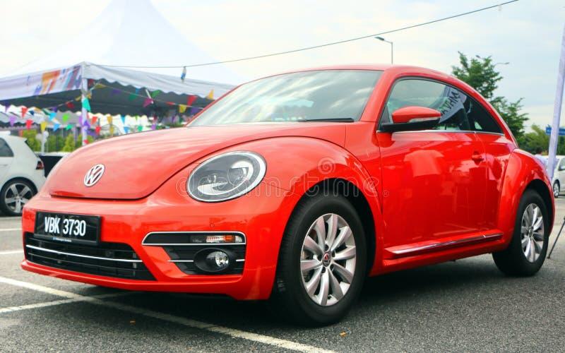 Новое поколение VW Volkswagen Beetle, также известное в мире как ошибка стоковое фото rf