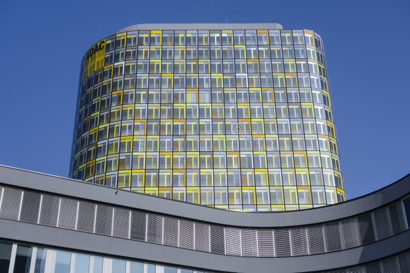 Новое ADAC размещает штаб Мюнхен, Германия стоковая фотография