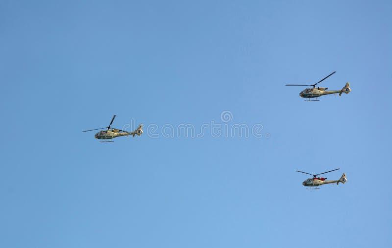 Новое Eurocopter EC130 (H130) в airshow стоковые изображения rf