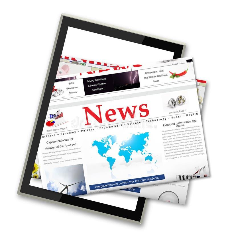Новости цифров стоковые изображения rf