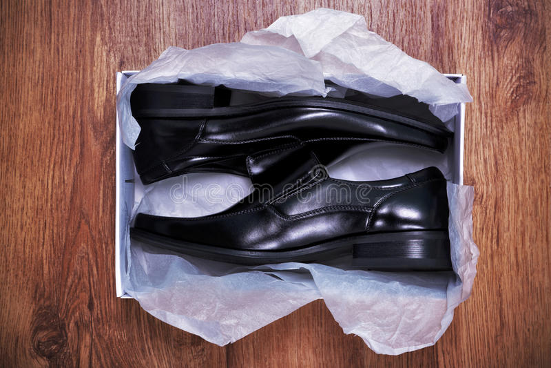 новые ботинки стоковое фото