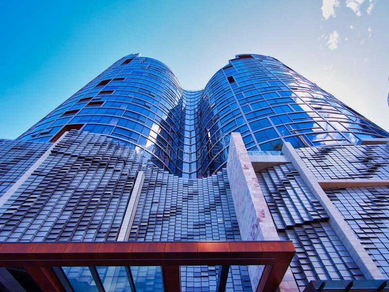 Новые жилые башни квартиры, Перт, западная Австралия стоковые изображения