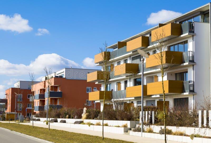 Новые квартиры стоковое изображение rf