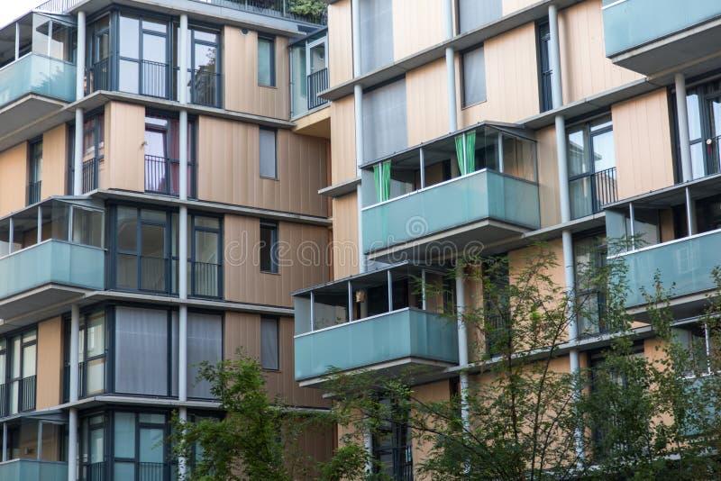 Новые квартиры стоковые фотографии rf