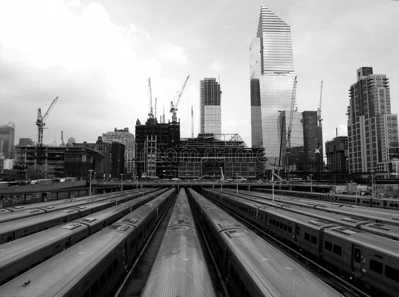 новые метро york стоковая фотография