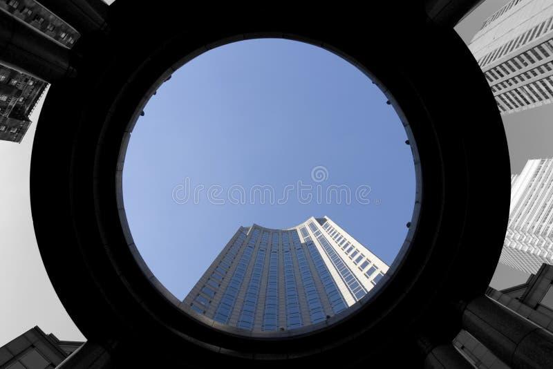 новые небоскребы york стоковое фото rf