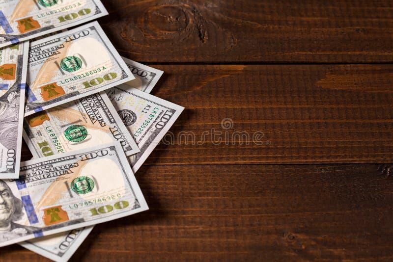 Новые 100 долларов США счетов стоковая фотография rf