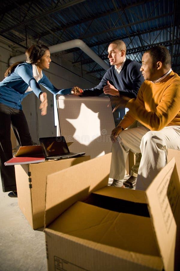 новые размеры офиса стоковые изображения
