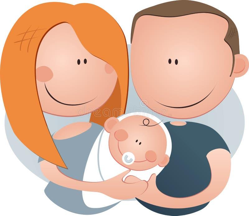 новые родители Стоковые Изображения
