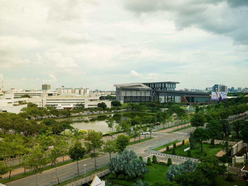 Новые штабы открытой акционерной компании телекоммуникаций CAT ограничиваемой в Таиланде стоковое фото