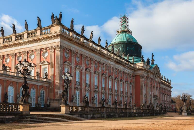Новый дворец в Потсдам стоковая фотография