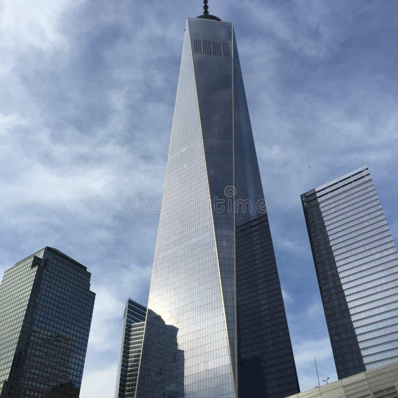 Новый всемирный торговый центр стоковое изображение