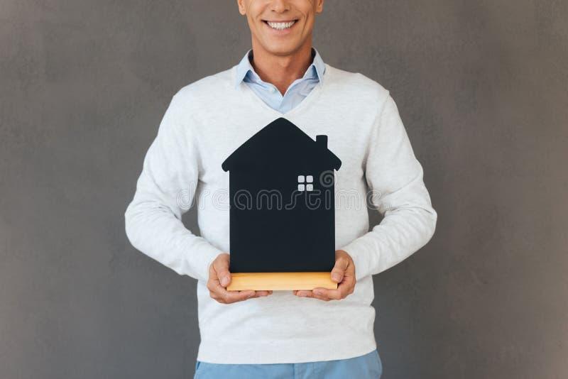 новый владелец дома стоковые изображения rf