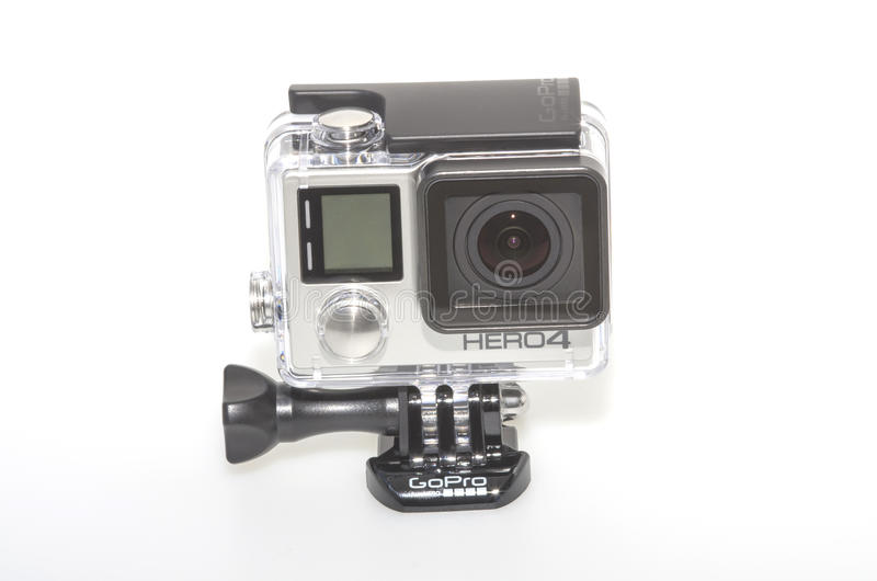 новый герой 4 GoPro стоковые фото